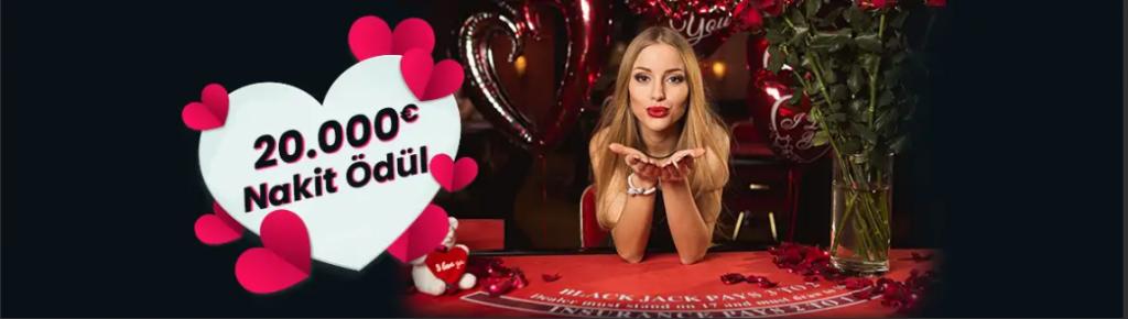 20.000 Euro Nakit Ödüllü Sevgililer Günü Turnuvası