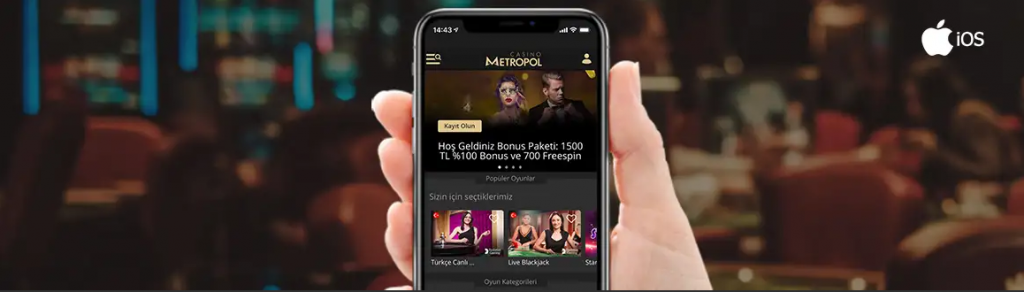 Casino Metropol İphone Nasıl İndirilir