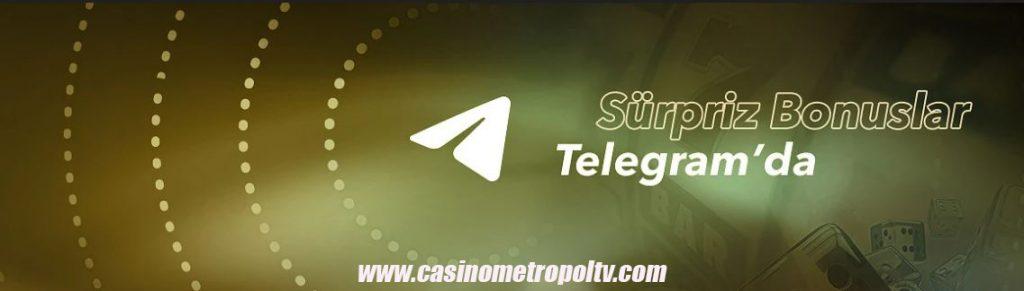 Casino Metropol Sürpriz Bonuslar Telegramda